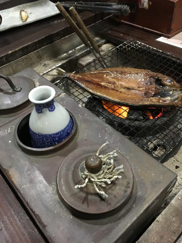 燗銅壺で熱燗